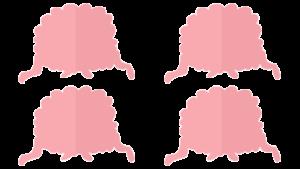 4コア8スレッドのイメージ図