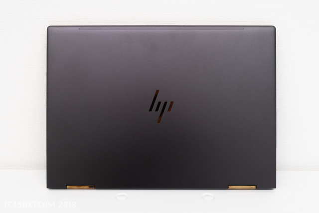 HP Spectre x360 Convertible 13の天板