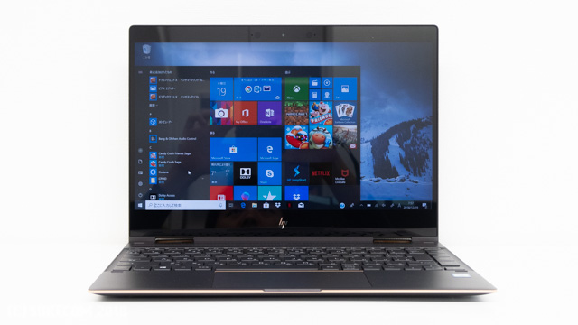 HP Spectre x360 Convertible 13のディスプレイ