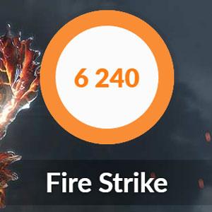 FireStrikeの結果