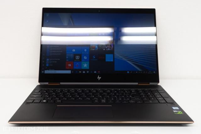 HP Spectre x360 15のディスプレイ