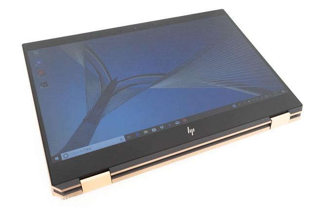 タブレットモードのHP Spectre x360 15