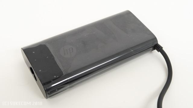 HP Spectre x360 15のACアダプター