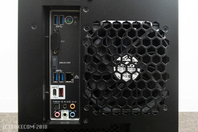 MASTERPIECE i1640の背面インターフェイス