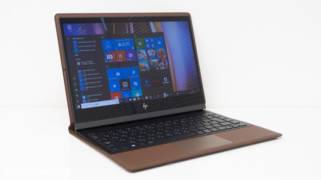 HP Spectre Folio 13の標準モード