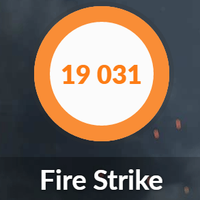 MASTERPIECE i1640GA1-SPのFire Strike結果