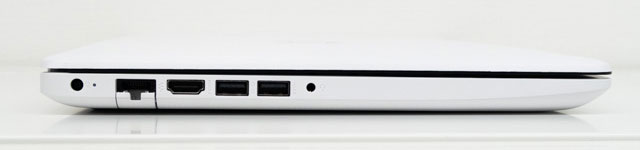 HP 15-db0000のインターフェイス