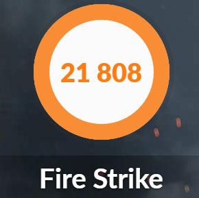 NEXTGEAR i690PA3-SPのFire Strike結果