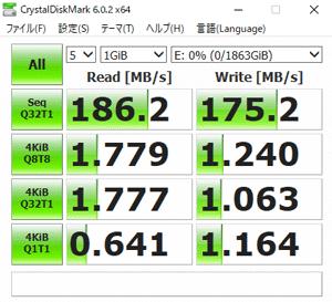 NEXTGEAR i690PA3-SPのHDD転送速度