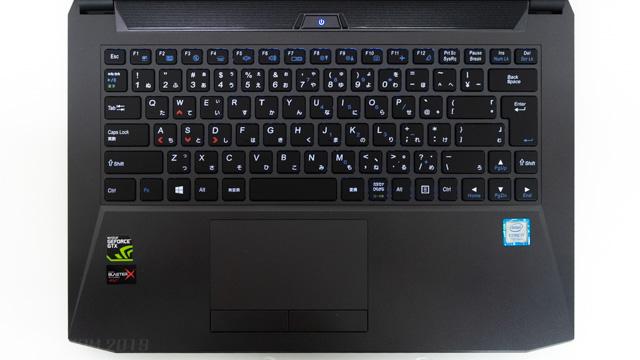 DAIV-NG4500E5のキー配列