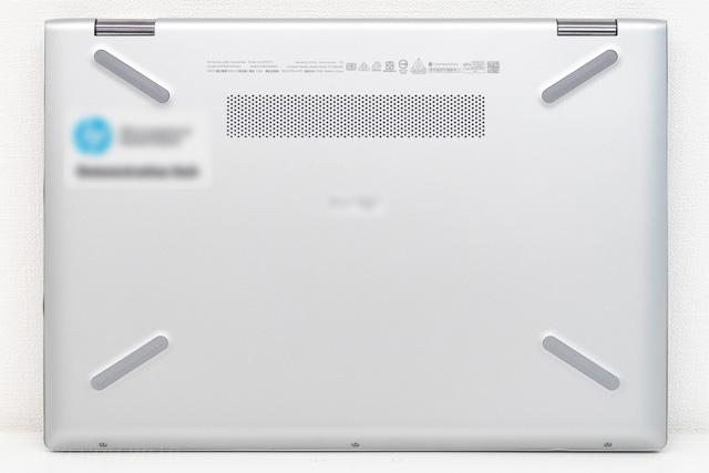 HP Pavilion x360 14の裏面