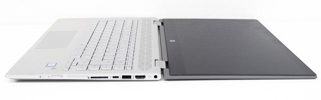 HP Pavilion x360 14のフラットモード