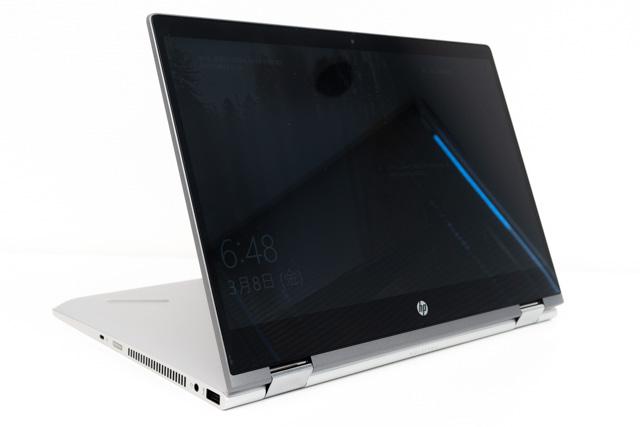 HP Pavilion x360 14のスタンドモード
