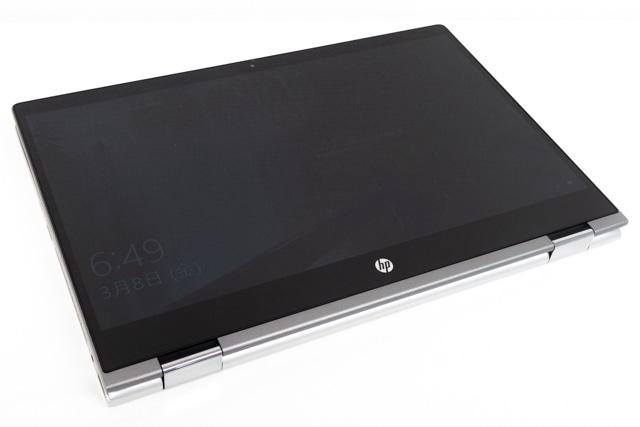 HP Pavilion x360 14のタブレットモード