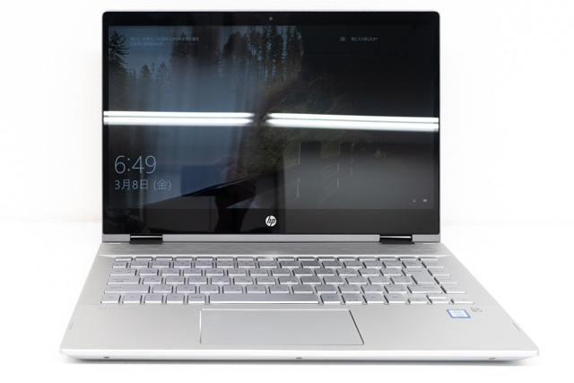 HP Pavilion x360 14のディスプレイ