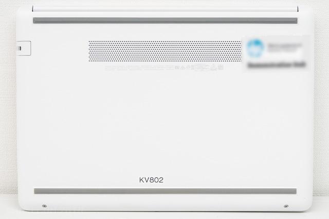HP 14s-cf0000の裏面