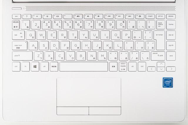 HP 14s-cf0000のキーボード