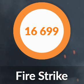 NEXTGEAR-NOTE i7940GA1のFIRESTRIKE