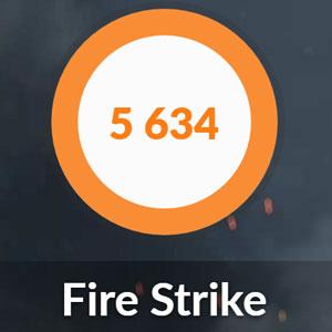 DAIV-NG4500E5のFIRE STRIKE結果