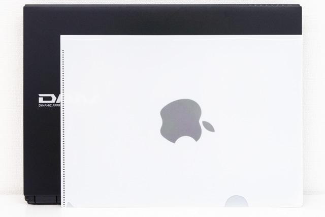 DAIV-NG5800とクリアファイル