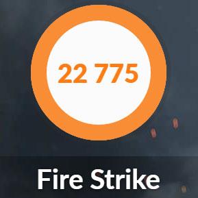自作パソコンのFire Strike