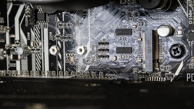M.2 SSDのスロット