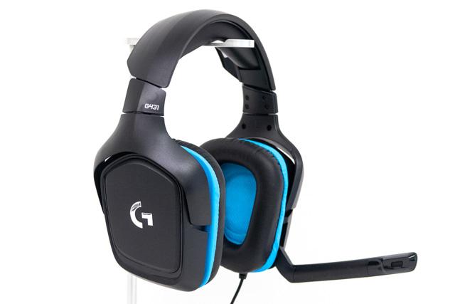"""G431 ロジクール """"ロジクールG""""より人気モデルの上位版となるヘッドセット4種が発売。ワイヤレス接続の""""G933s""""や、お手軽価格で高性能な""""G431""""など"""