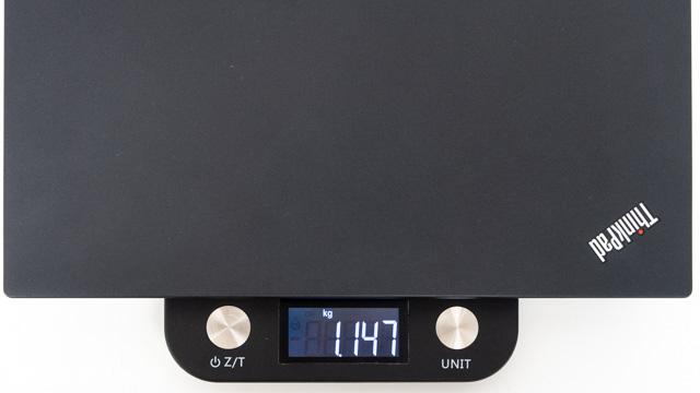 パソコン単体の重量