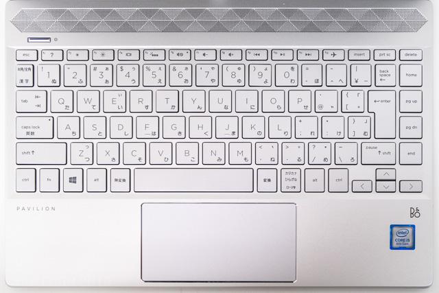 HP Pavilion 13-an0000のキーボード