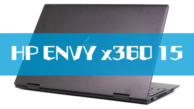 HP ENVY x360 15(AMD)