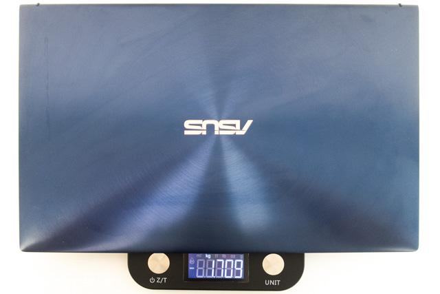 ZenBook 15の重量