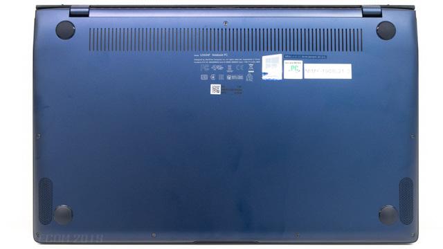 ZenBook 14の底面