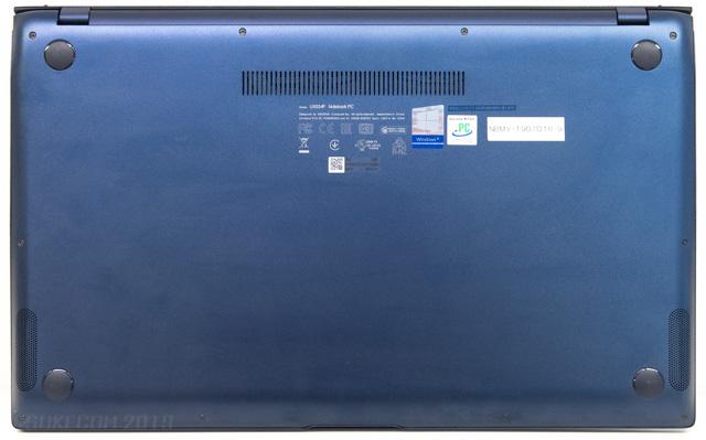 ZenBook 15の底面