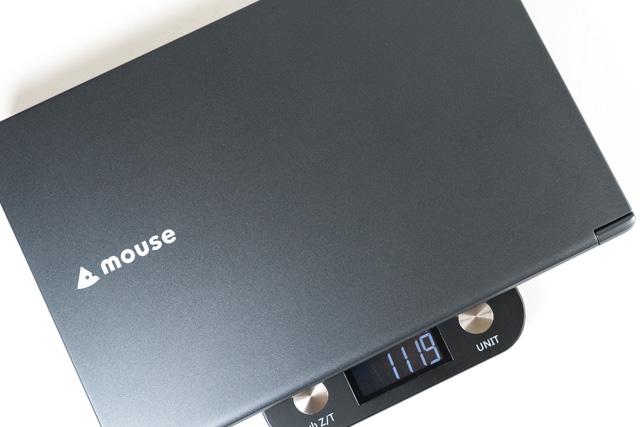 mouse X4-i7の重量