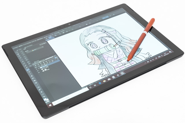 Surface Pro 7でイラスト